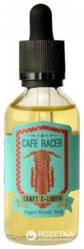 Рідина для електронних сигарет Cafe Racer Yogurt Bomb 60 мл (Йогурт з манго, гуава та мандарином)