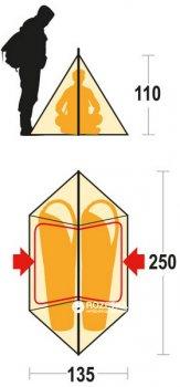 Палатка Ferrino MTB 2 Kelly Green (923877)