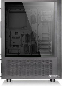Корпус Thermaltake Core X71 Tempered Glass Edition Black (CA-1F8-00M1WN-02)