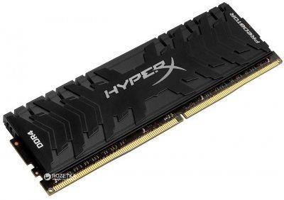 Оперативна пам'ять HyperX DDR4-2666 16384MB PC4-21300 Predator Black (HX426C13PB3/16)