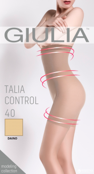 Колготки Giulia Talia Control 40 den Daino