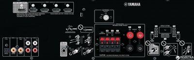 Yamaha YHT-1840 Black (YZW69390)