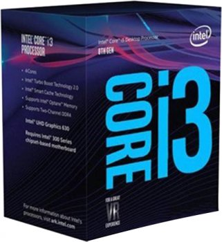 Процесор Intel Core i3-8350K 4.0GHz/8GT/s/8MB (BX80684I38350K) s1151 BOX