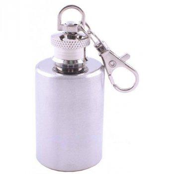 Фляга-брелок из нержавеющей стали (Чистая) №XB-3