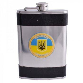 Фляга из пищевой нержавеющей стали Украина F-179-14