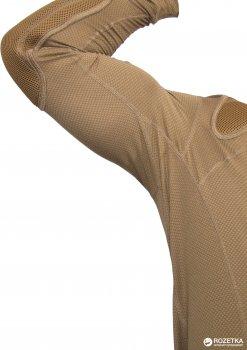 Футболка тренировочная полевая с длинными рукавами P1G-Tac Frogman Range Shirt Polartec Delta UA281-29981-D-CB XL Coyote Brown (2000980417407)