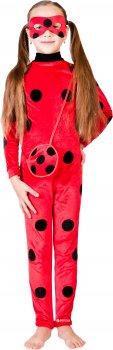 Карнавальный костюм Сашка Леди Баг НГ-122 110-116 см Красный (971531)