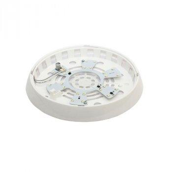 Світильник стельовий ERKA 1126 LED-K 12W 4200 ДО прозорий/слонова кістка