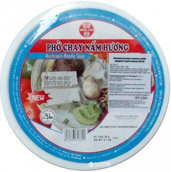 Лапша рисовая Bich-Chi со вкусом грибов 60 г (8934863318601)