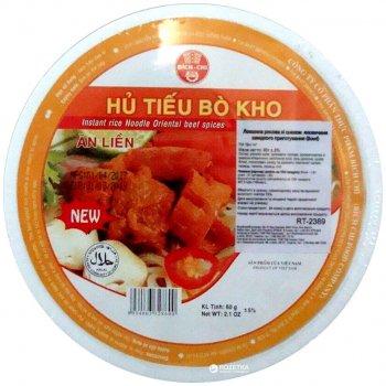 Лапша рисовая Bich-Chi со вкусом говядины 60 г (8934863328600)