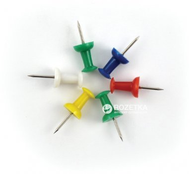 Доска пробковая Axent 45 х 60 см + 6 кнопок-гвоздиков (9601-A)