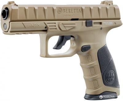 Пневматичний пістолет Umarex Beretta APX FDE (5.8357)