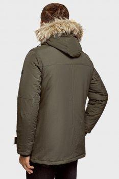 Мужская зеленая куртка Oodji 1L422007M/46215N/6600N