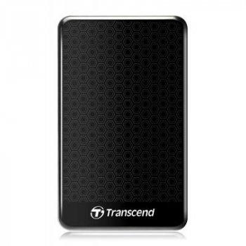 """Зовнішній жорсткий диск 2.5"""" 1TB Transcend (TS1TSJ25A3K)"""