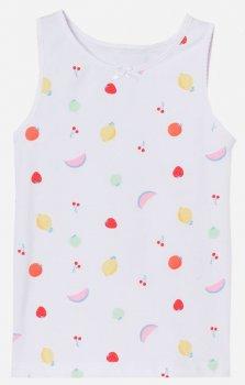 Майка H&M 0630525-1 Белая фрукты