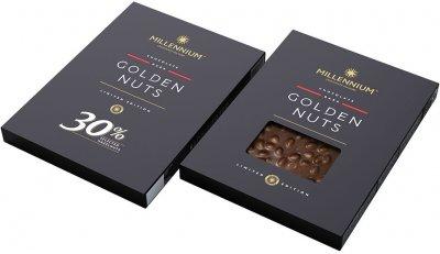 Шоколад Millennium черный с целым фундуком 1.1 кг (4820075509514)