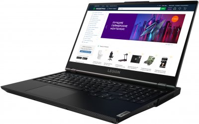 Ноутбук Lenovo Legion 5 15ARH05 (82B500KBRA) Phantom Black