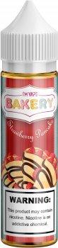 Рідина для електронних сигарет I'm vape Strawberry Cake 3 мг 60 мл (Полуниця + Джем + Млинці) (IMB-SP-60-3)