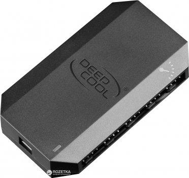 DeepCool FH-10 10 Port Fun Hub Black (FH-10)