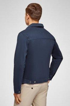 Чоловіча синя джинсова куртка Oodji 6L300011M/35771/7900W