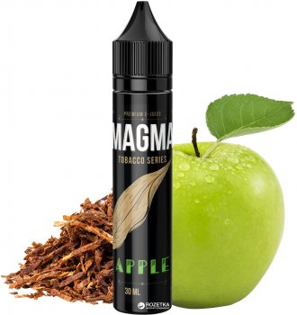 Жидкость для электронных сигарет Magma Apple Tobacco Series 30 мл (Яблоко + табак)