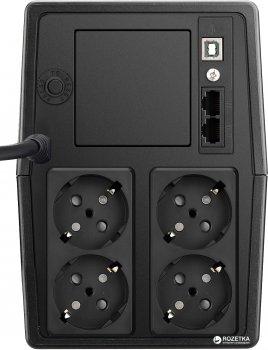 Mustek PowerMust 1000 LI 1000VA/600W (1000-LED-LI-T10)