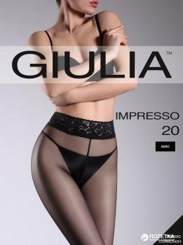 Колготки Giulia Impresso 20 Den Nero