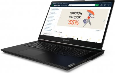 Ноутбук Lenovo Legion 5 17ARH05H (82GN002ERA) Phantom Black