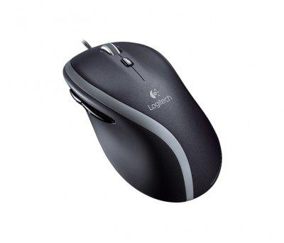 Миша дротова Logitech M500 USB black (910-003725/910-003726)
