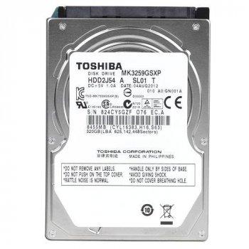 Жорсткий диск Toshiba 320GB 5400rpm 8MB MK3259GSXP SATAII 2.5 Refurbished
