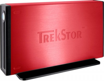 Жорсткий диск Trekstor maxi m.ub 500Gb DSMMUB-S-SU-a 3.5 USB 2.0 External Red Refurbished