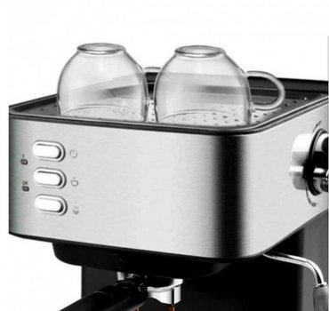 Кофеварка эспрессо рожковая кофемашина полуавтоматическая DSP Espresso Coffee Maker KA-3028 850W(11152) ,