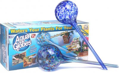 Кулі Aqua Globes для поливу рослин 2 шт. (5060211772405)