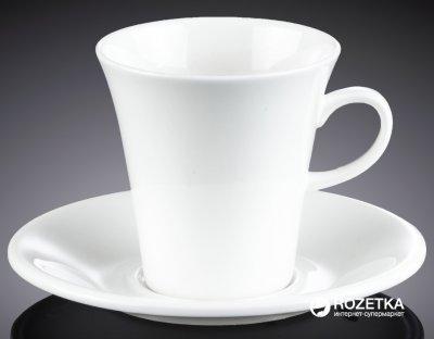 Чашка кофейная с блюдцем Wilmax 160 мл (WL-993005)