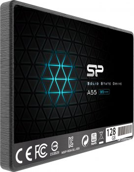 "Silicon Power A55 128GB 2.5"" SATAIII TLC (SP128GBSS3A55S25)"