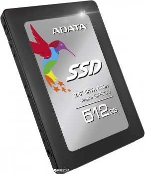 "ADATA Premier SP600 512GB 2.5"" SATA III MLC (ASP600S3-512GM-C)"