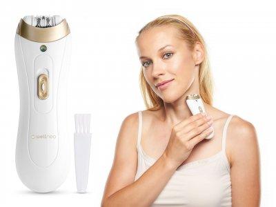 Прибор для удаления волос Wellneo Твиз Премиум Белый/золотистый