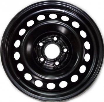 Kapitan Chevrolet / Opel R16 W6.5 PCD5x105 ET40 DIA56.6 Black semi-Matt