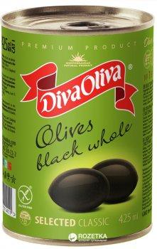Маслини Diva Oliva відбірні з кісточкою 420 г (5060162901411)