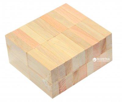 Брусочки деревянные Руді Неокрашенные 36 деталей (Ду-64-1) (4824003012565)