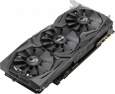 Asus PCI-Ex GeForce GTX 1080 Ti ROG Strix 11GB GDDR5X (352bit) (1480/11010) (DVI, 2 x HDMI, 2 x DisplayPort) (ROG-STRIX-GTX1080TI-11G)