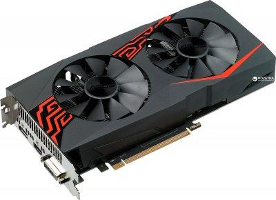 Asus PCI-Ex Radeon RX570 Expedition 4GB GDDR5 (256bit) (1244/7000) (DVI, HDMI, DisplayPort) (ROG-STRIX-RX570-4G)