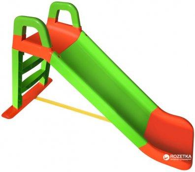 Горка Active Baby детская Зелено-красная 140 см (01-0140/0401) (4822003280144)