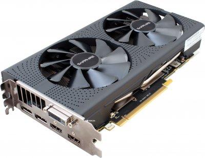 Sapphire PCI-Ex Radeon RX 570 Pulse 4GB GDDR5 (256bit) (1284/7000) (DVI, 2 x HDMI, 2 x DisplayPort) (11266-04)