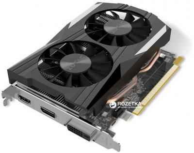 Zotac PCI-Ex GeForce GTX 1050 Ti OC Edition 4GB GDDR5 (128bit) (1392/7000) (DVI, HDMI, DisplayPort) (ZT-P10510B-10L)