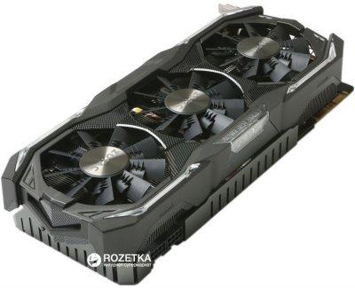 Zotac PCI-Ex GeForce GTX 1080 AMP Extreme 8GB GDDR5X (256bit) (1771/10800) (DVI, HDMI, 3 x DisplayPort) (ZT-P10800B-10P)