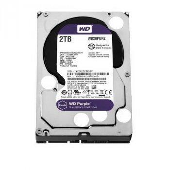 HDD SATA 2.0 TB WD Purple 5400rpm 64MB (WD20PURZ)