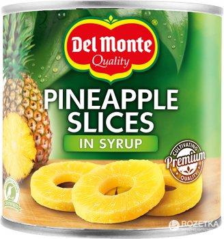 Ананасовые кольца Del Monte в сиропе 435 г (0024000015963)