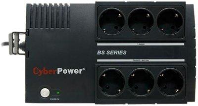ДБЖ CyberPower BS650E, 650VA, Offline, 6хЅсһико, USB