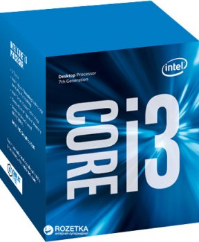 Процесор Intel Core i3-7100 3.9 GHz/8GT/s/3MB (BX80677I37100) s1151 BOX